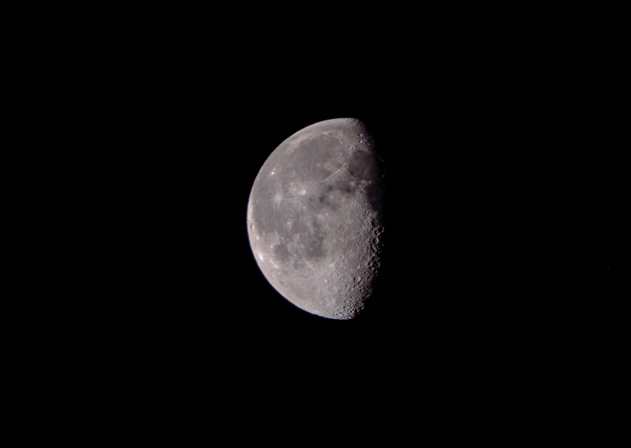 20180206morning moon