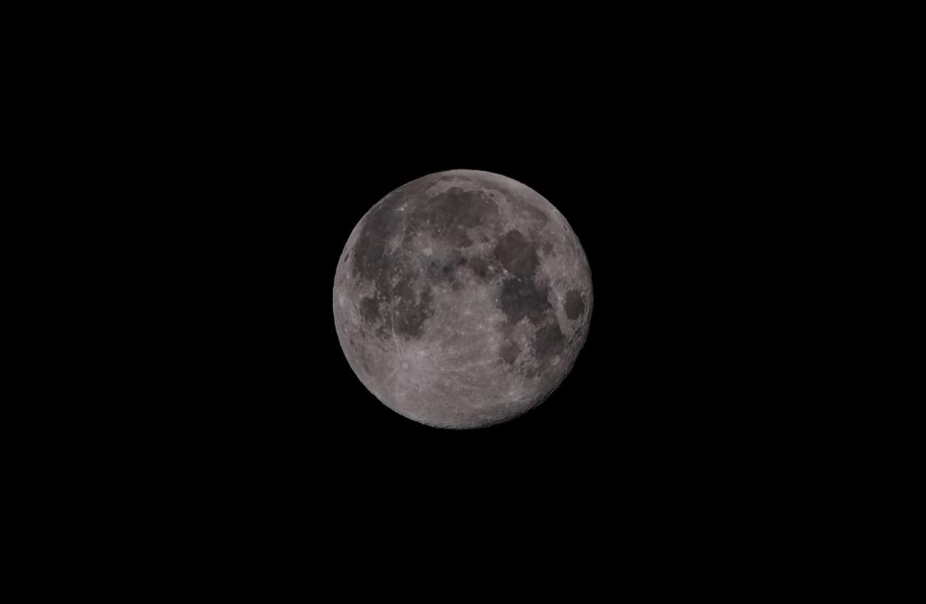 20180303morning moon