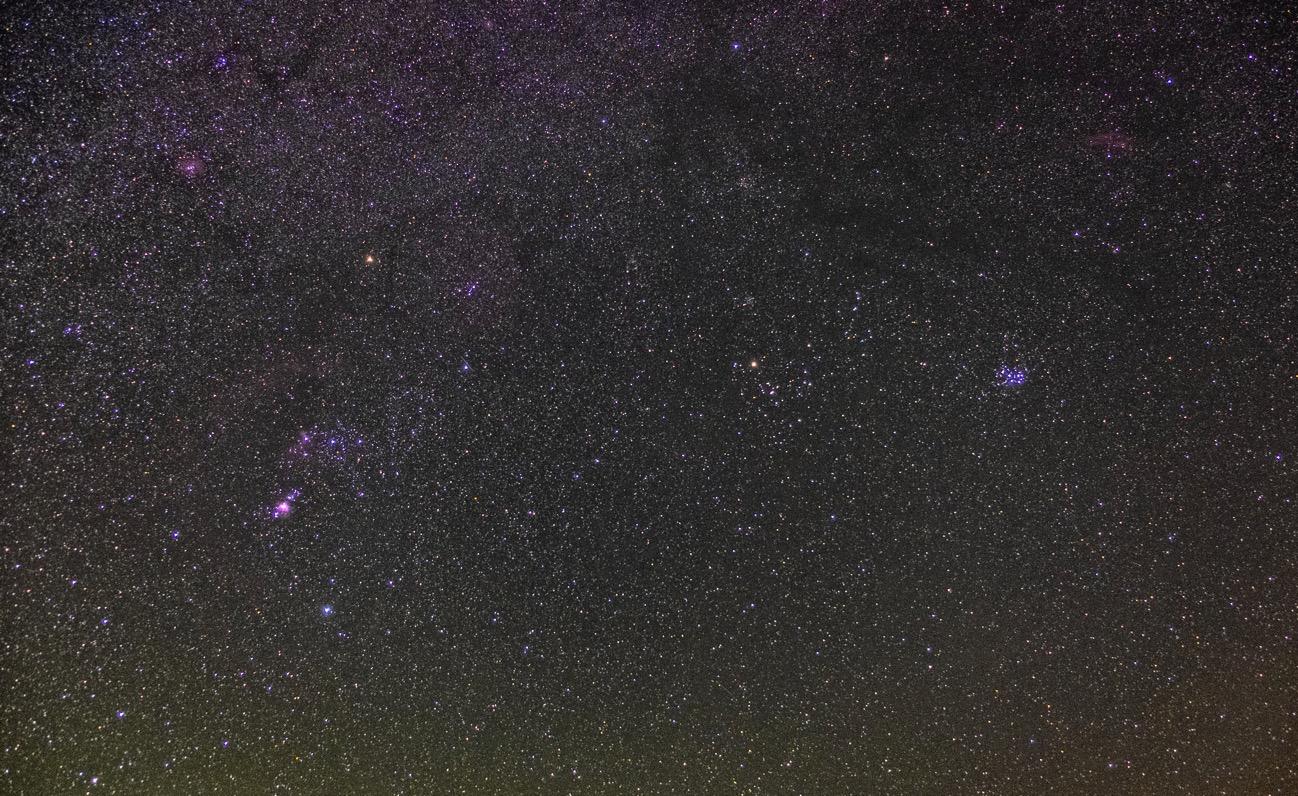 20181022orion pleiades