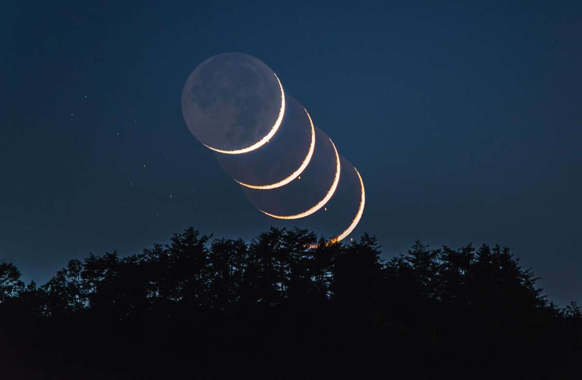 Aldebaran eclipse