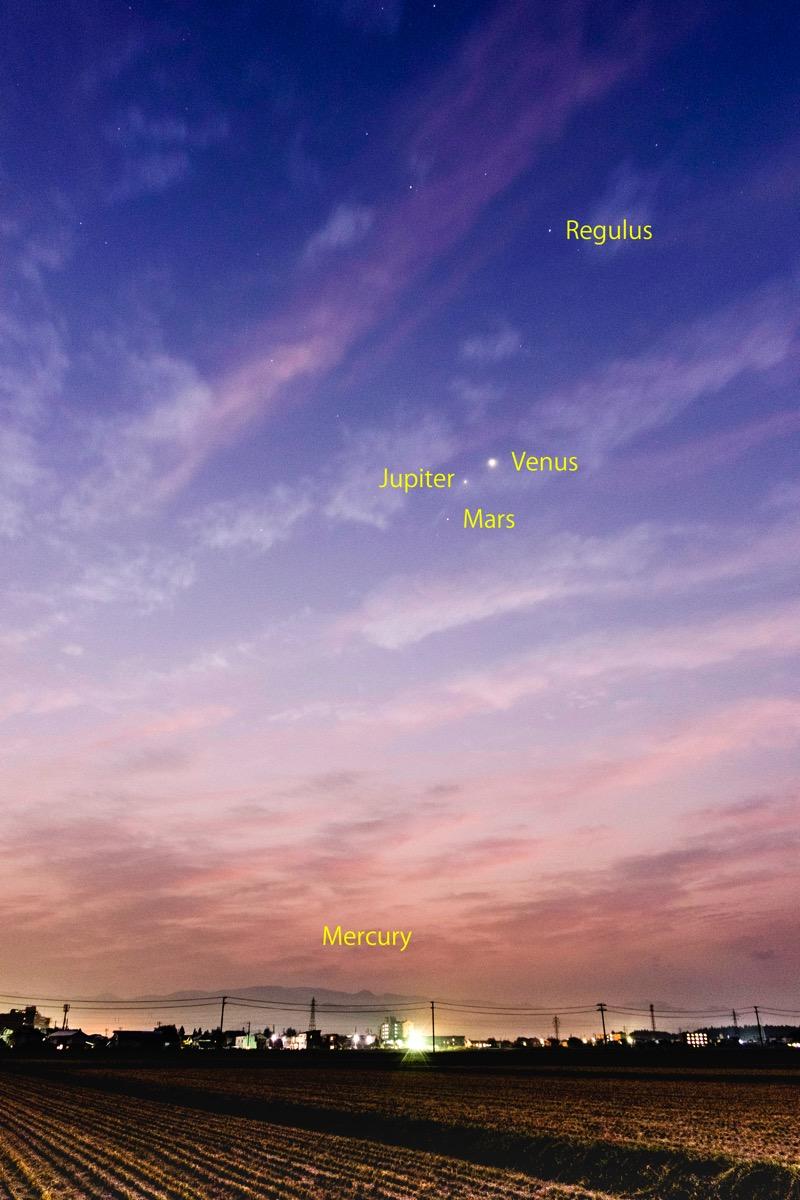 East sky20151024 2