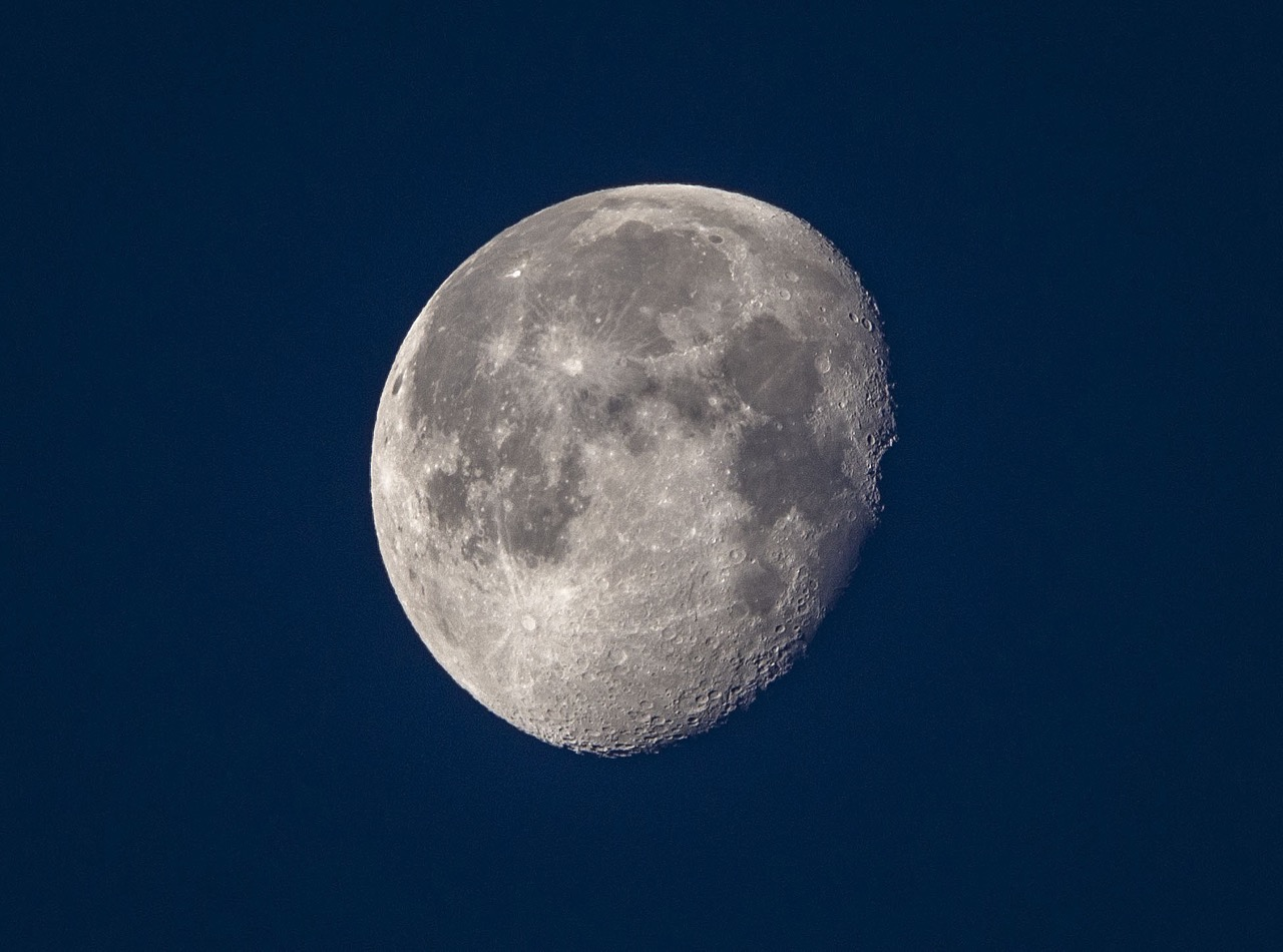 20190423morning moon